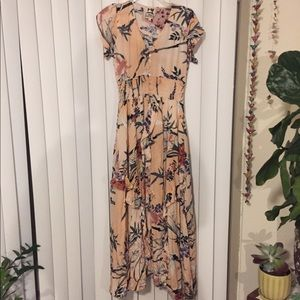 JAASE medium maxi dress pink and floral!